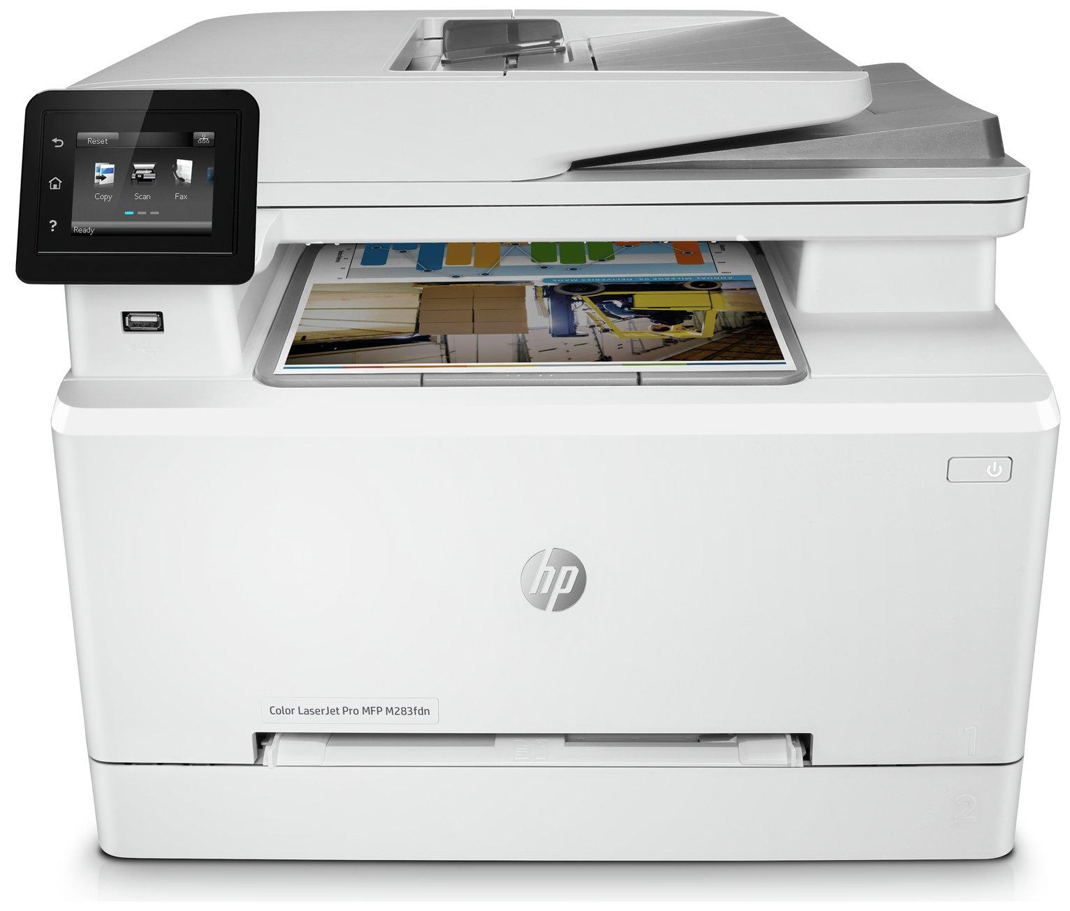HP LaserJet M283FDW Wireless Colour Laser Printer