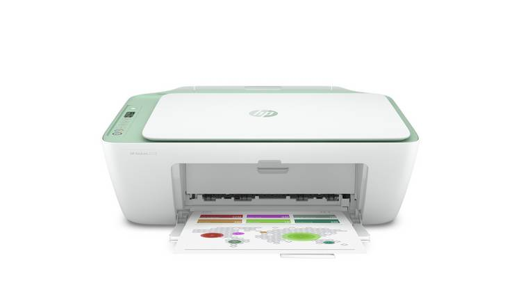 HP Deskjet 2722 Wireless Printer & 4 Months Instant Ink