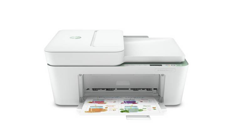 HP Deskjet Plus 4122 Wireless Printer & 3 Months Instant Ink