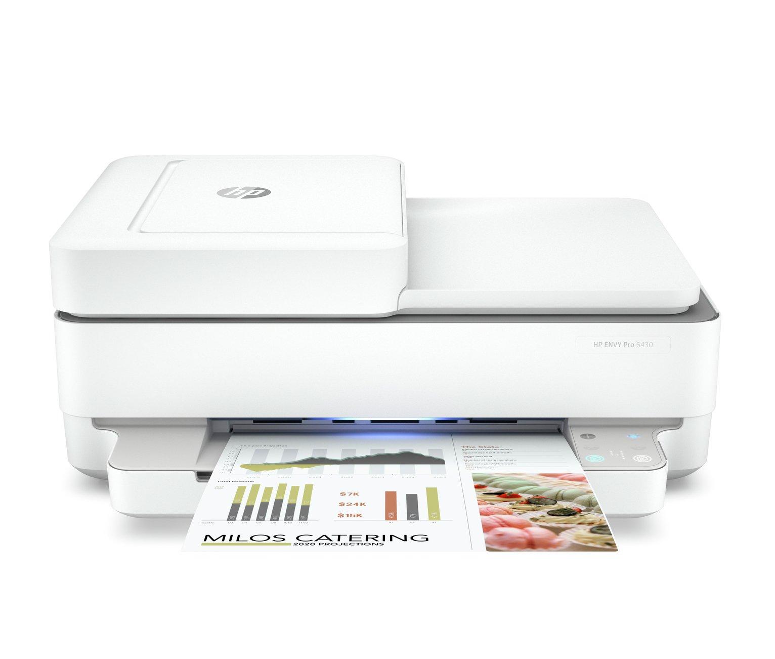 HP Envy 6430 Wireless Printer & 4 Months Instant Ink