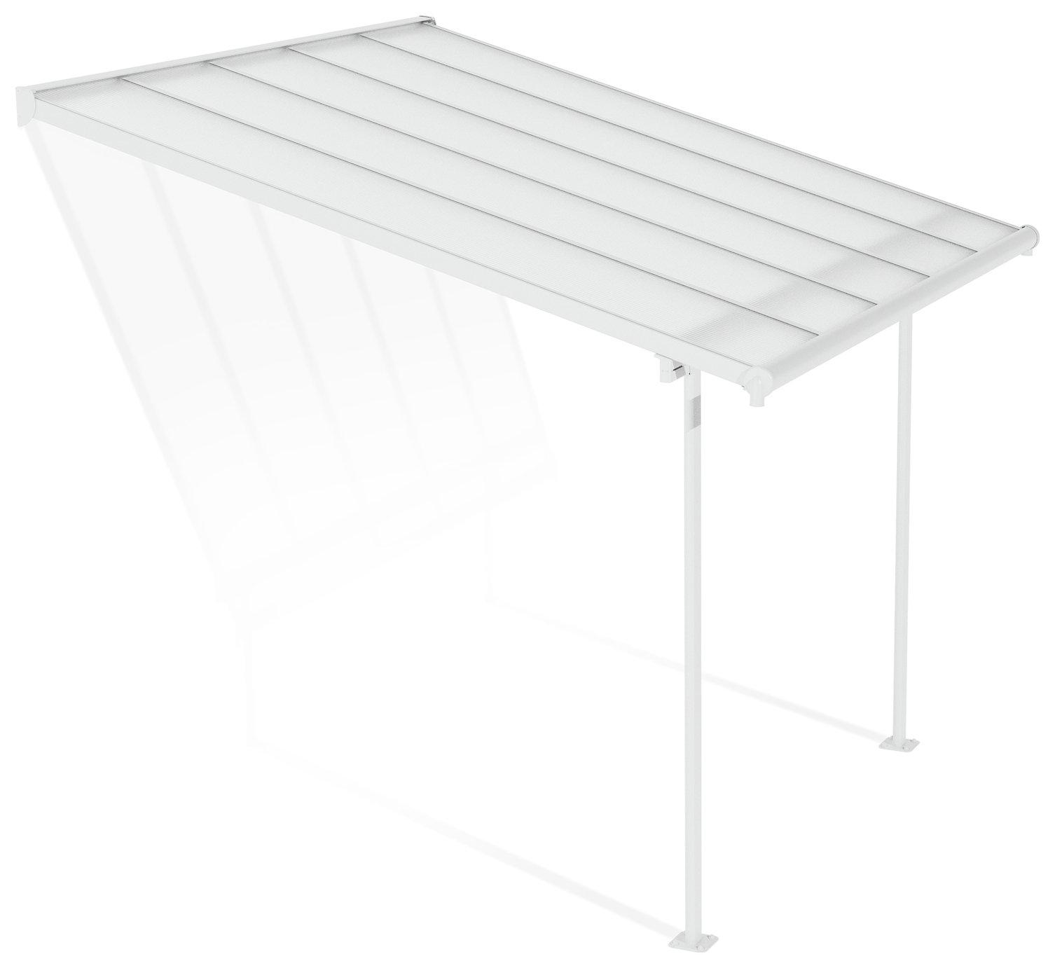 Palram - Canopia Sierra 3 x 3.05m Patio Cover - White Clear