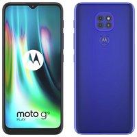 SIM Free Motorola G9 Play 64GB Mobile Phone - Sapphire Blue