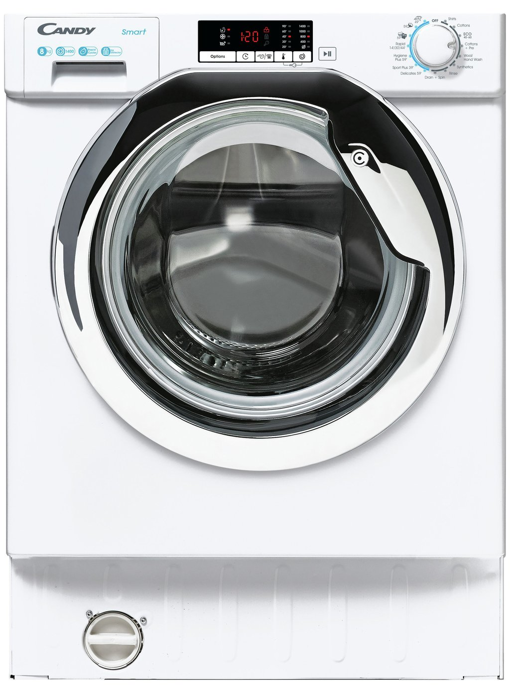 Candy CBW 48D1XCE 1 8KG Integrated Washing Machine