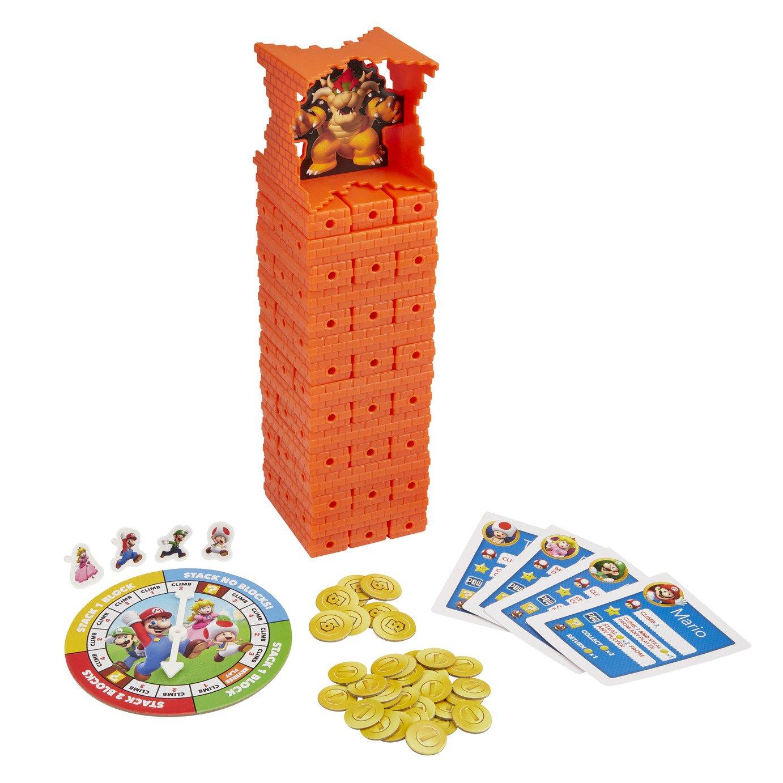 Jenga: Super Mario Edition Game, Block Stacking Tower Game