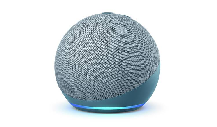 Amazon Echo Dot 4th Gen Smart Speaker with Alexa - Blue