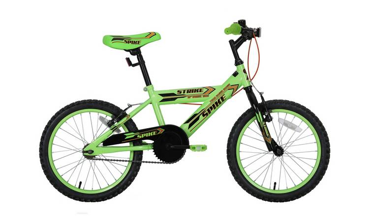 Spike 18 Inch Wheel Size Kids Bike - Green