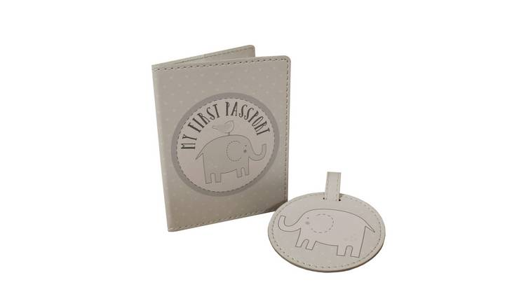 Petit Cheri Passport Holder & Luggage Tag