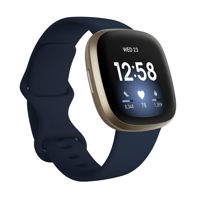 Fitbit Versa 3 Smart Watch - Midnight Blue