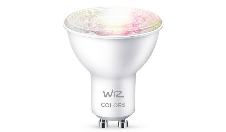 Wiz Wi-Fi Colour & Tunable White GU10 LED Smart Bulb