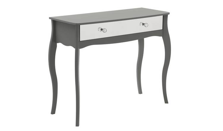 Argos Home Amelie 1 Drawer Mirrored Dressing Table - Grey