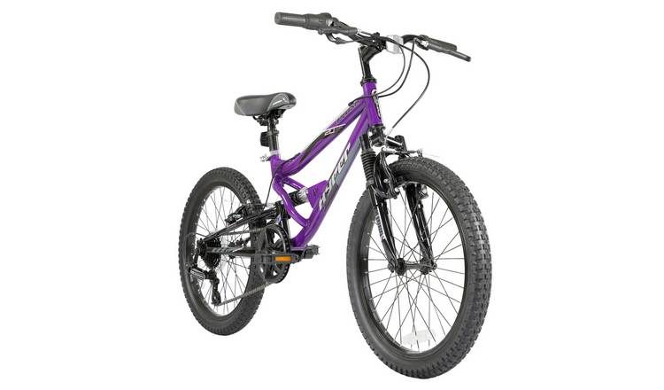 Hyper Plush 20in Wheel Size Dual Suspension Bike