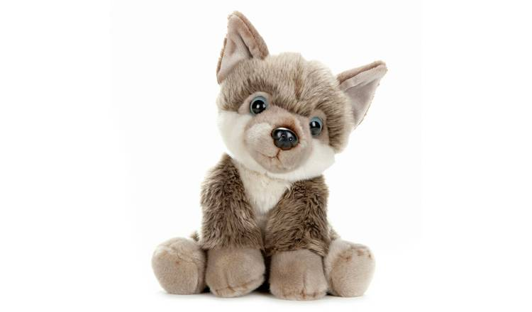 BBC Earth Babies 25cm Husky Puppy Soft Toy