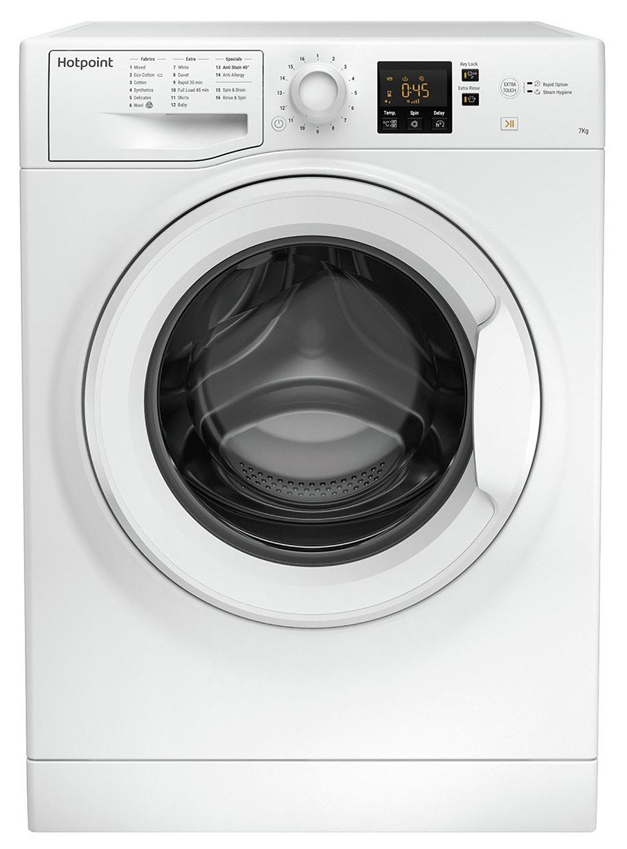 Hotpoint NSWM743UK 7KG 1400 Spin Washing Machine - White