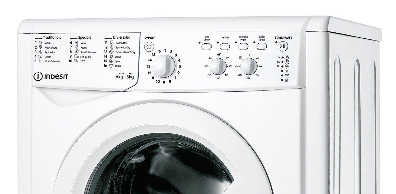 Indesit IWDC 65125 6KG/5KG 1200 Spin Washer Dryer - White