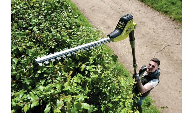 Buy Ryobi Rpt4545m 45cm Electric Pole Hedge Trimmer 450w Hedge Trimmers Argos Shop for ryobi hedge trimmers in trimmers and edgers at walmart and save. buy ryobi rpt4545m 45cm electric pole hedge trimmer 450w hedge trimmers argos
