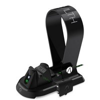 Stealth Xbox One Dock & Charging Station with Headset Stand