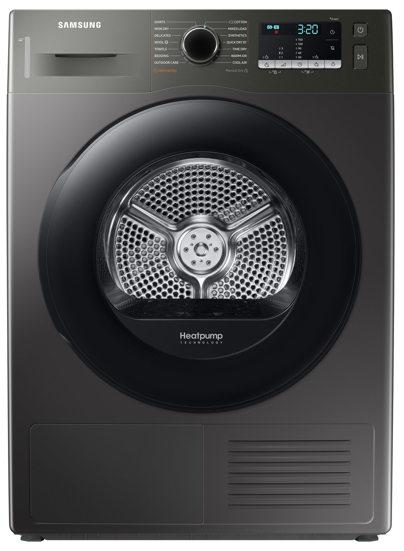 Samsung DV80TA020AX/EU 8KG Heat Pump Tumble Dryer - Graphite