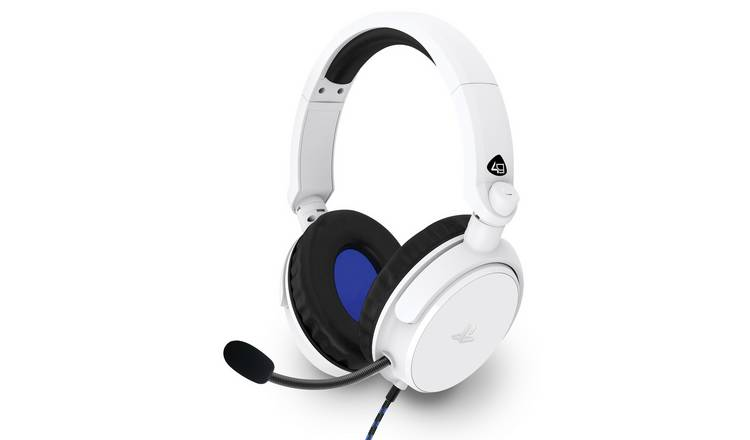 Officially Licensed PRO4-50S PS5/PS4 Headset - White