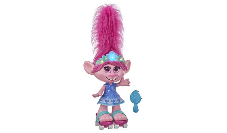 DreamWorks Trolls World Tour Dancing Hair Poppy Doll