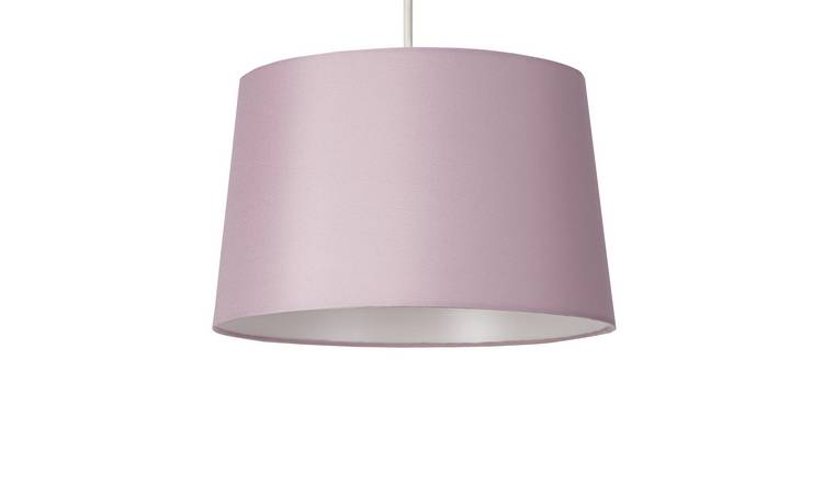 Argos Home Taper Shade - Blush Pink