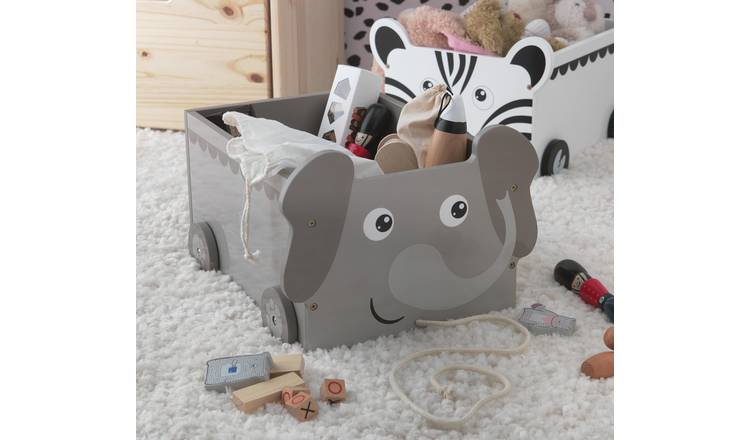 Argos Home Elephant Toy Storage Buggy