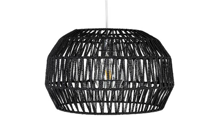 Argos Home Global Rope Shade - Black