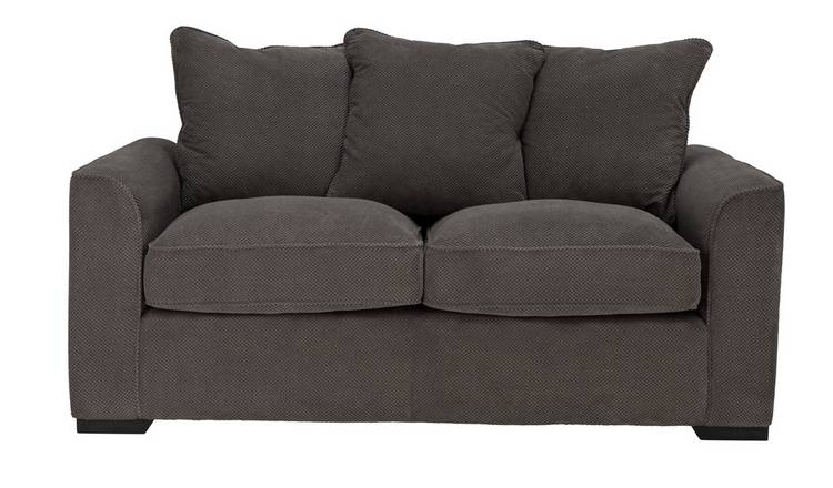 Habitat Carson 3 Seater Fabric Sofa - Grey