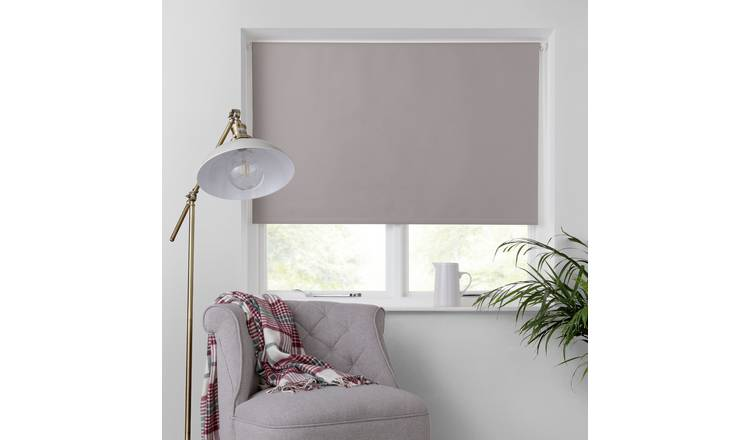 Argos Home Blackout Insulating Roller Blind - 2ft - Taupe