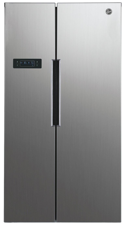 Hoover HHSBSO6174XK American Fridge Freezer - Silver