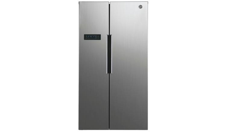 Hoover HHSBSO6174XK American Fridge Freezer - Silver
