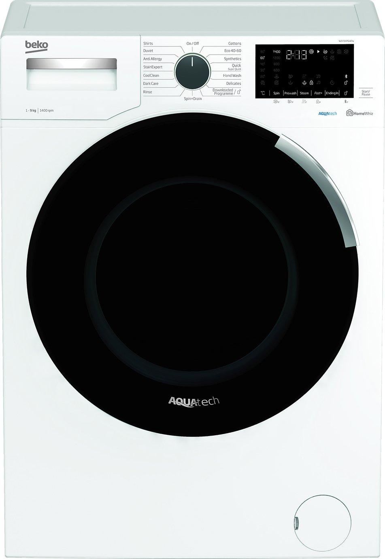 Beko AquaTech WEY94P64EW 9KG Spin Washing Machine - White