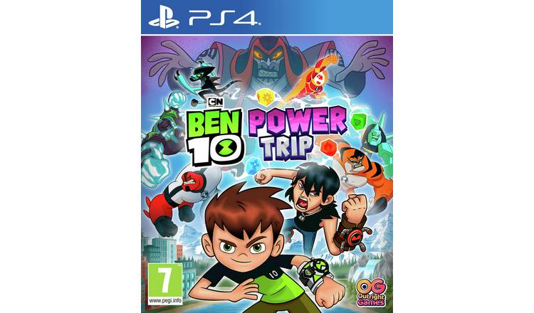 Ben 10: Power Trip PS4 Game