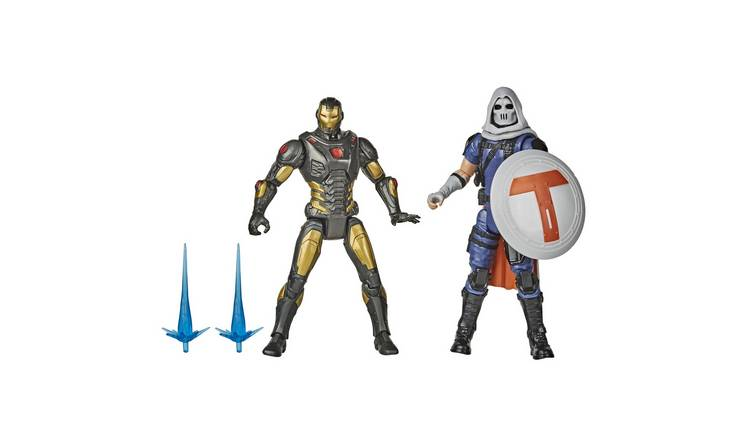 Hasbro Marvel Gamerverse 15cm Iron Man vs Taskmaster Figures