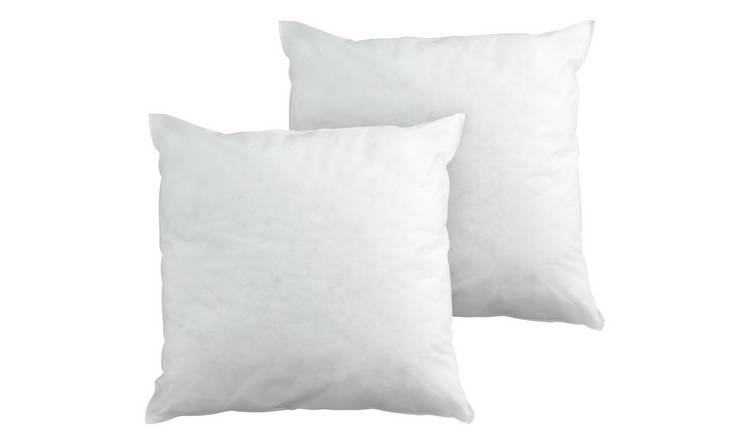 Argos Home Hollowfibre 50x50cm Cushion Pads - 2 Pack