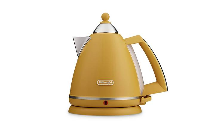 De'Longhi KB3016.Y Argento Mood Kettle - Yellow