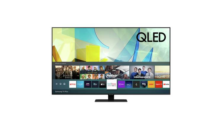 Samsung 49In QE49Q80TATXXU Smart 4K UHD QLED TV