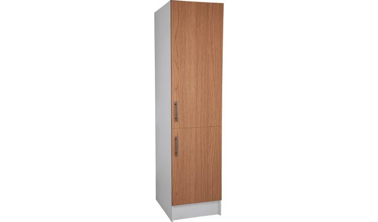 Argos Home Athina 500mm Fitted Kitchen Tall Unit -Oak Effect