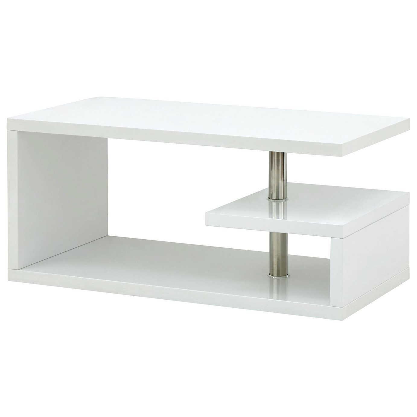 Polar Coffee Table - White Gloss