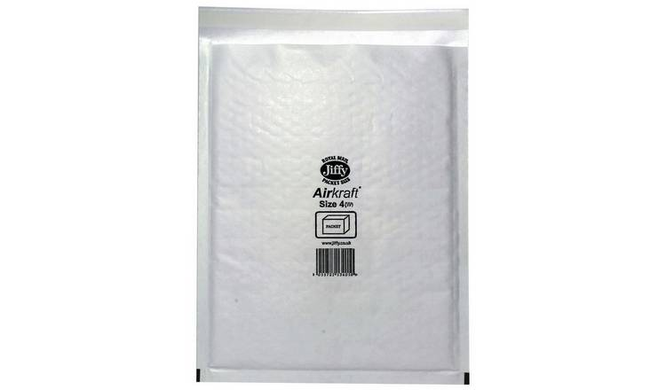 Jiffy Postal Bag Envelope Size 4 240mm x 320mm - Pack of 10