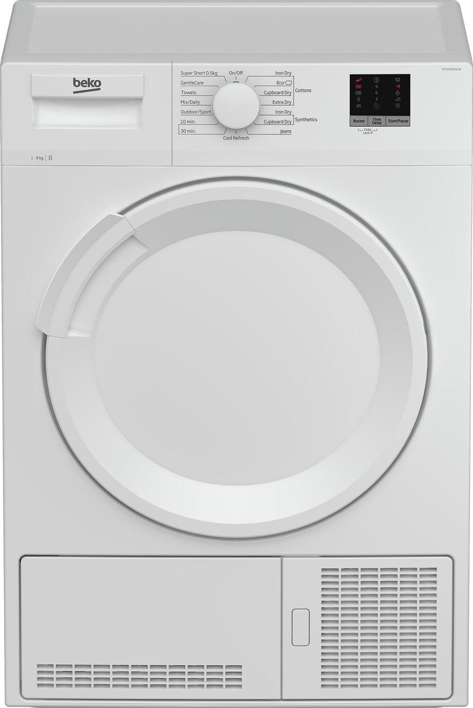 Beko DTLCE90051W 9KG Condenser Tumble Dryer - White