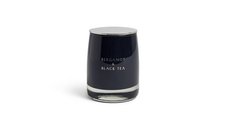 Argos Home Candle with Lid - Black