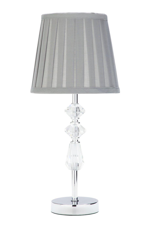 Argos Home Kilmore Table Lamp - Grey