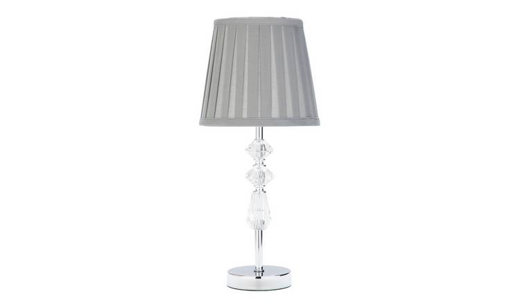 Argos Home Kilmore Table Lamp - Grey