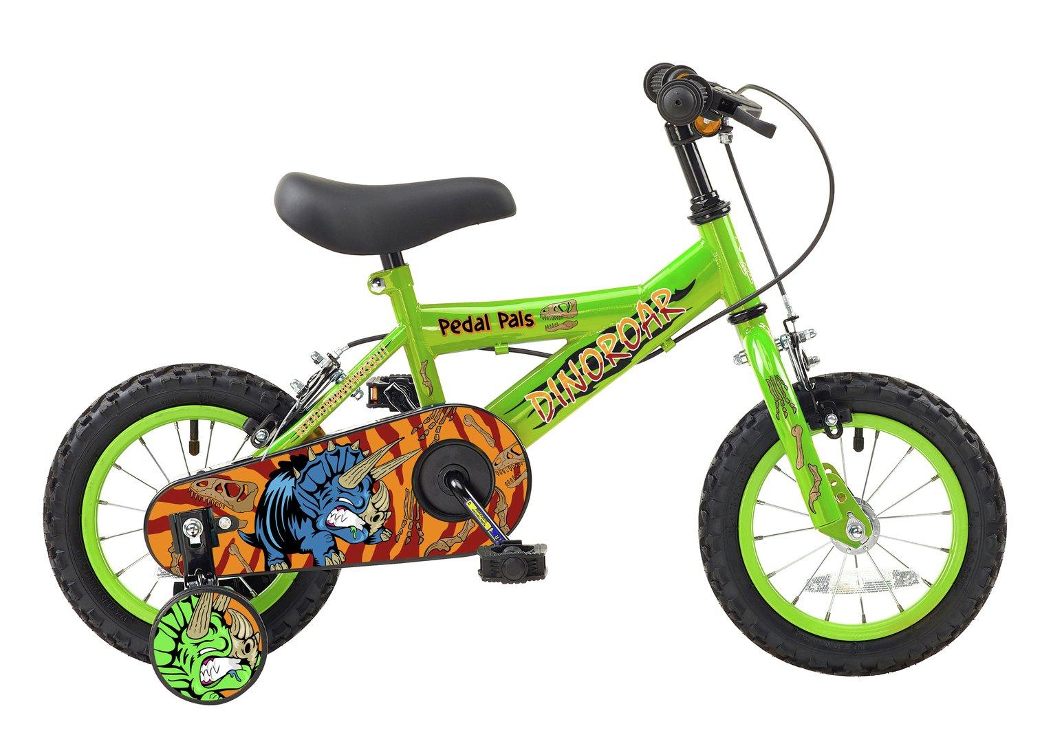 Pedal Pals 12 Inch Wheel Size Dinoroar Kids Bike