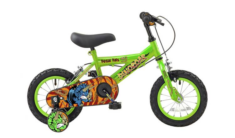 Pedal Pals 12 Inch Wheel Size Dinoroar Kids Bike
