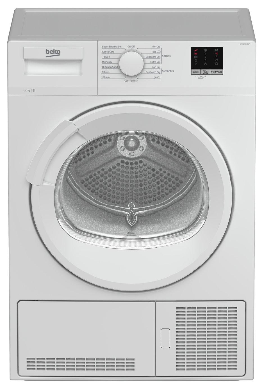 Beko DTLCE70151W 7KG Condenser Tumble Dryer - White