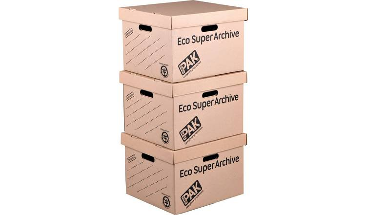 StorePAK Superior Archive Storage Boxes - Pack of 3