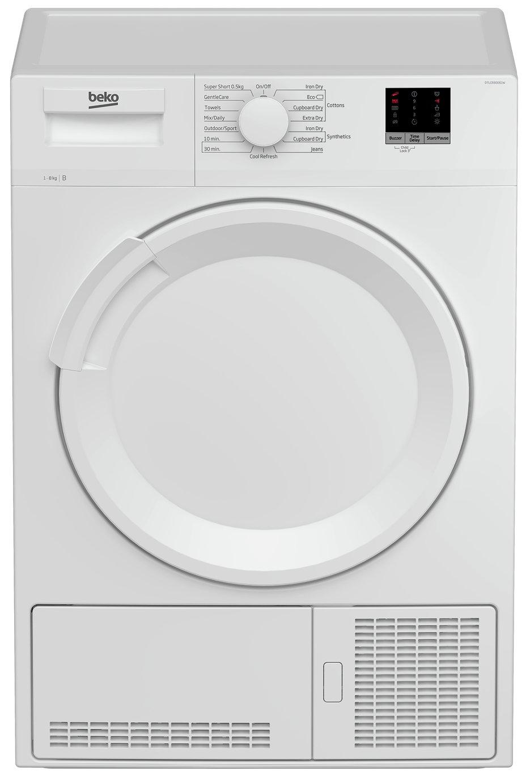 Beko DTLCE80051W 8KG Condenser Tumble Dryer - White