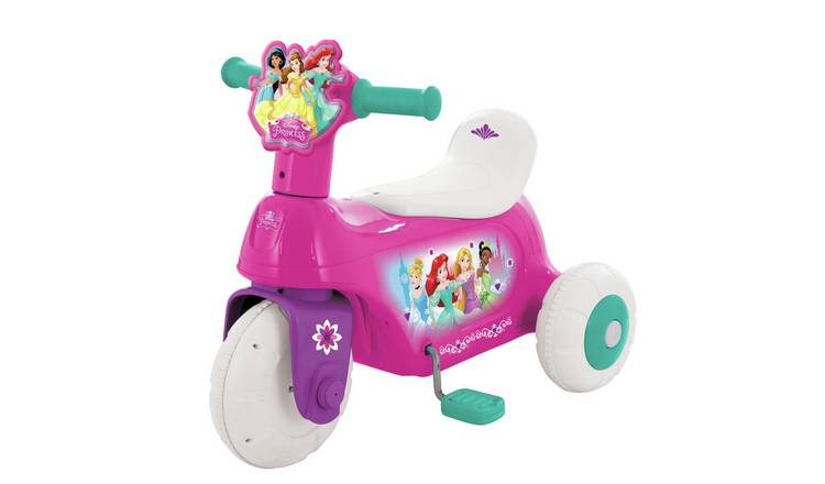 Disney Princess 6V Ride On & Vehicle