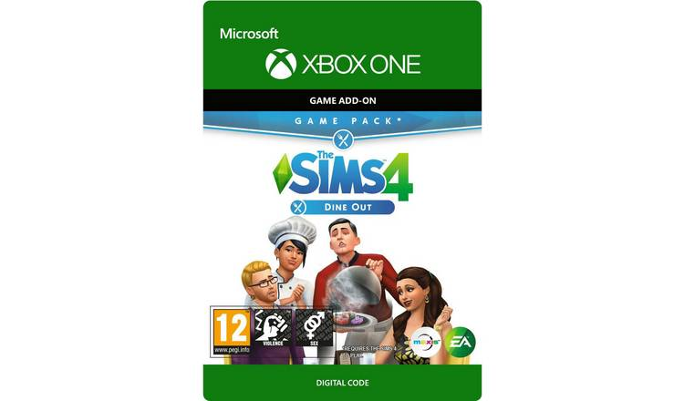 The Sims 4 Dine Out Xbox One Expansion Pack Digital Download